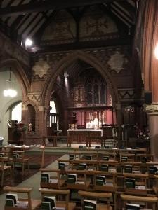 St Martins Church interior